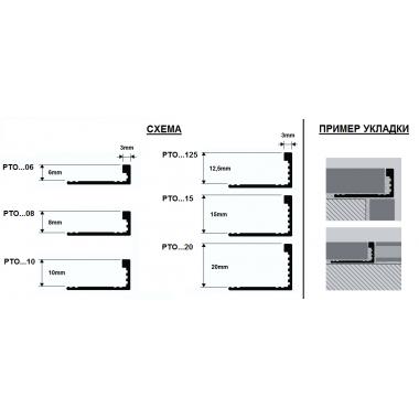 Профиль латунный Г-образный Progress Profiles PTOL 15 (Латунь полированная)