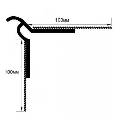 Профиль штукатурный капельник с сеткой BP-14