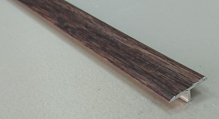 Профиль Т-образный ламинированный АЛТ-20 (Дуб гартвис)