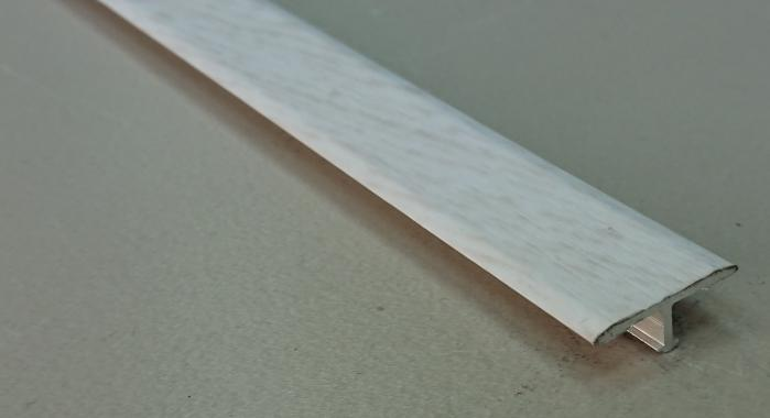 Профиль Т-образный ламинированный АЛТ-20 (Венге интенсивный)