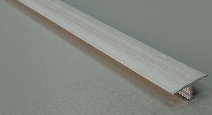 Профиль Т-образный ламинированный АЛТ-18 (Дуб жемчужный)