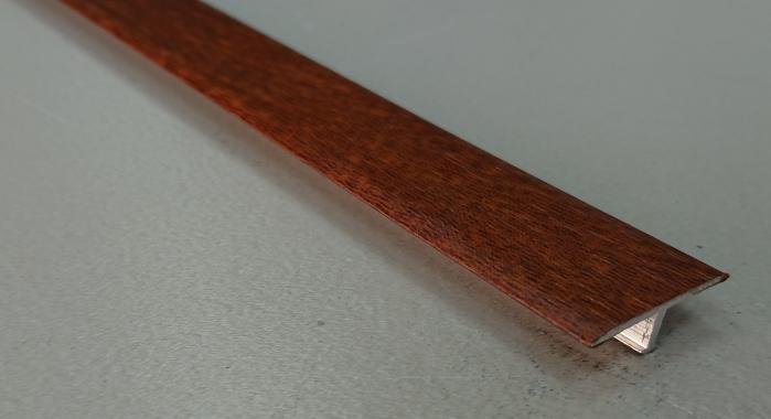 Профиль Т-образный ламинированный АЛТ-26 (Дуб золотой)