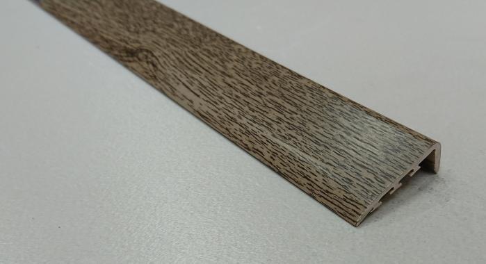 Порог ламинированный угловой MYCK D-K0400-3P Дуб