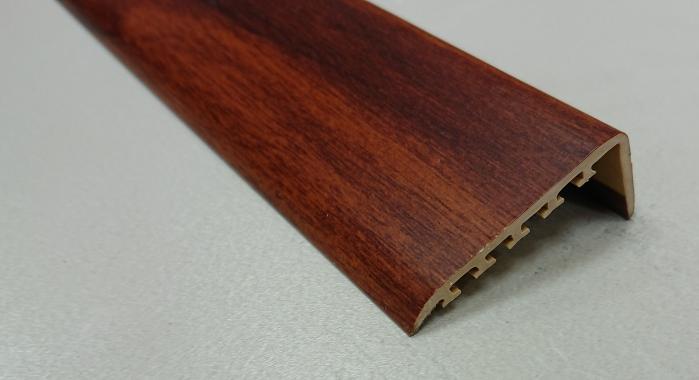 Порог ламинированный угловой MYCK D-K0100-7E Махагон